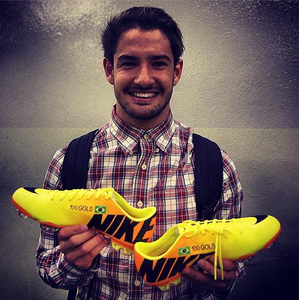 Alexandre Pato 100 gols (Foto: Reprodução/Instagram)