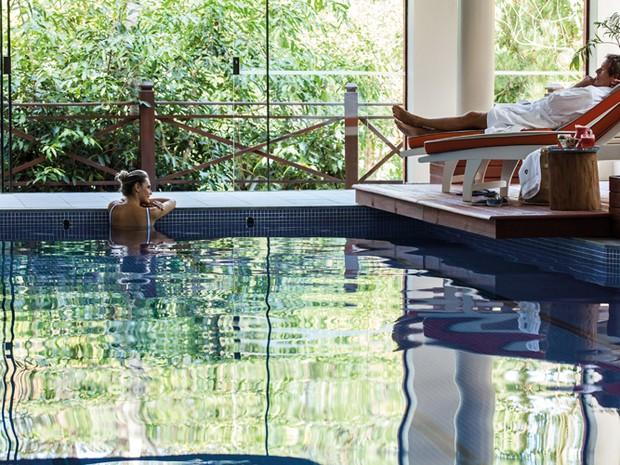 Bangalô conta com piscina privativa (Foto: Ponta dos Ganchos Resort/Divulgação)