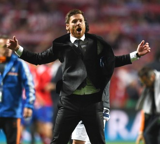 Xabi Alonso na final da liga dos Campeões, Champions (Foto: Getty Images)
