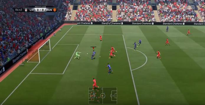 Fifa 17: como se inscrever no concurso de gols da semana da EA (Foto: Reprodução/Murilo Molina)