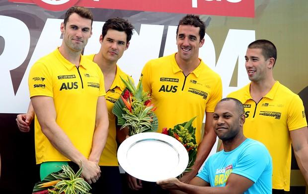 raia rápida natação australia (Foto: Satiro Sodré/SS Press)