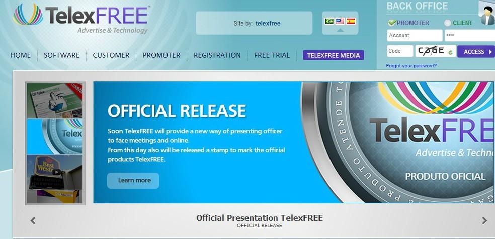 Telexfree foi condenada a devolver dinheiro de divulgadores (Foto: Divulgação/Telexfree)