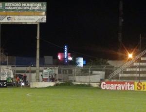 Estádio Coaracy da Mata, em Arapiraca (Foto: Leonardo Freire/GloboEsporte.com)
