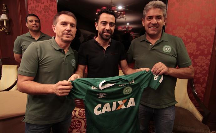 Xavi Palestra sub-17 Chapecoense (Foto: Divulgação)