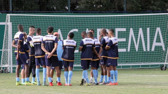 c4bf4e6c7a treino do macaé em são paulo (Foto  Tiago Ferreira   Macaé Esporte)  Atividade ...