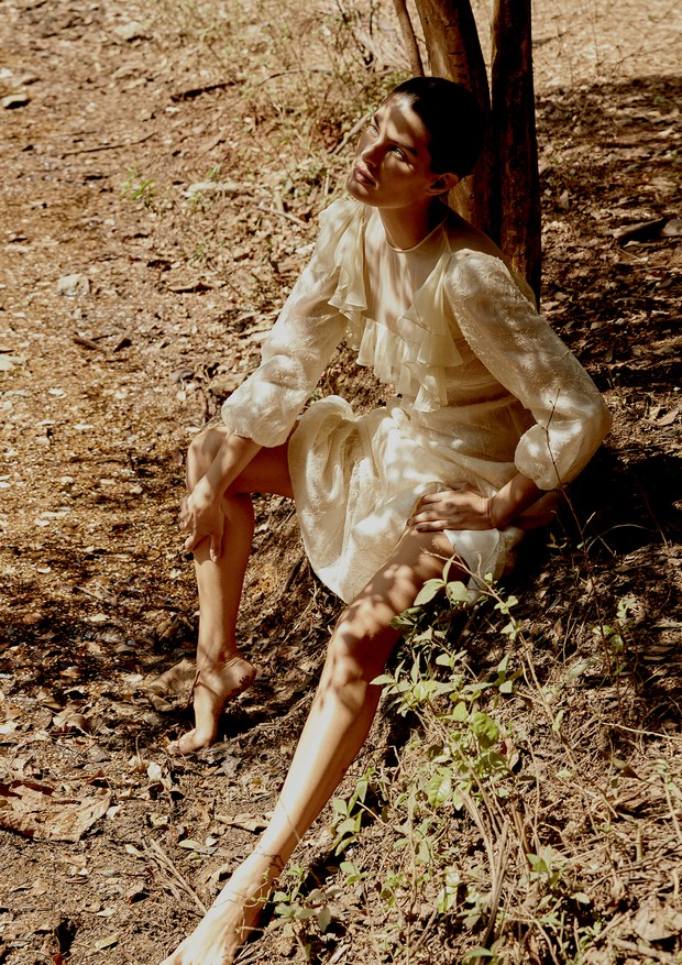 Vestido, Rochas. (Foto: Rafael Pavarotti)