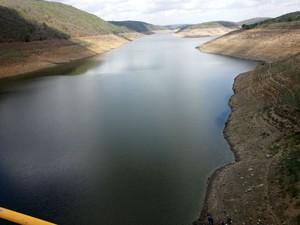 Barragem de Jucazinho, em Surubim, Pernambuco (Foto: Divulgação/ Compesa)