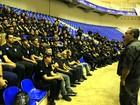 Polícia para serviços administrativos para operação com 3,3 mil agentes