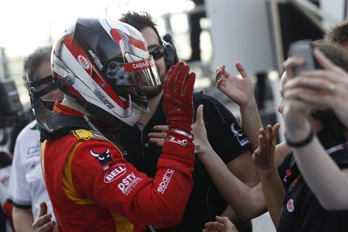 Stefano Coletti comemora vitória na etapa de encerramento da GP2 em Abu Dhabi (Foto: Divulgação)