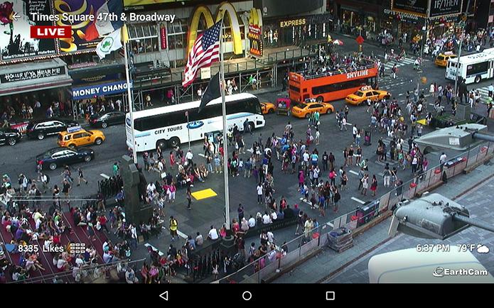 Webcams cria janela digital para qualquer lugar do mundo (Foto: Reprodução/Google Play)