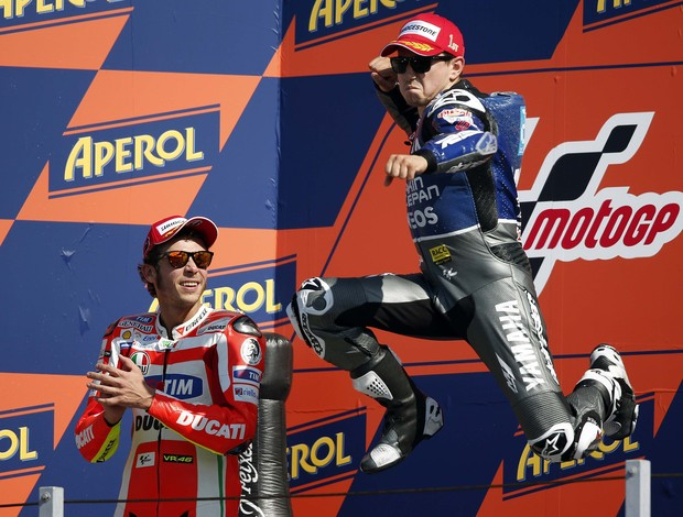 Valentino Rossi e Jorge Lorenzo MotoGP San Marino (Foto: Reuters)