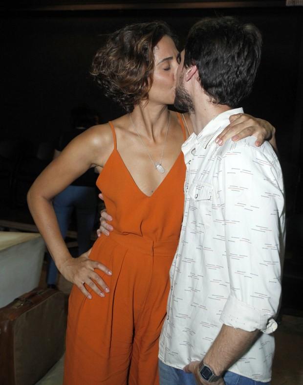Camila Pitanga e Igor Angelkorte (Foto: Marcello Sá Barretto/AgNews)