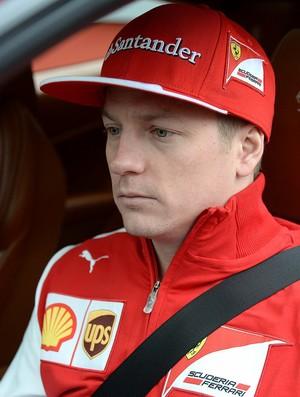 De volta à Ferrari, Kimi Raikkonen será o primeiro a guiar o novo carro em Jerez (Foto: Divulgação)