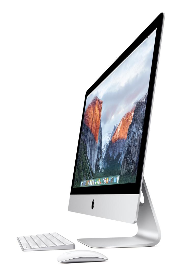 Processadores de sexta geração da Intel e placa de vídeo dedicada estão restritos ao iMac de 27 polegadas (Foto: Divulgação/Apple)