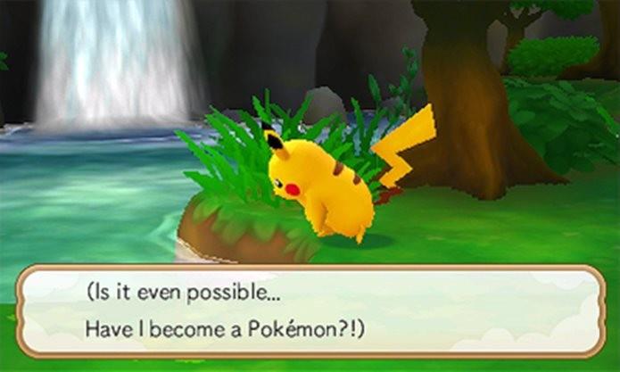 Sim! Neste jogo para Nintendo 3DS você é um Pokémon (Foto: Divulgação / Nintendo)