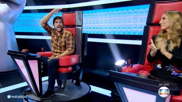 Ausência de Victor Chaves no The Voice Kids é comentada na web (Foto: Reprodução/Twitter)