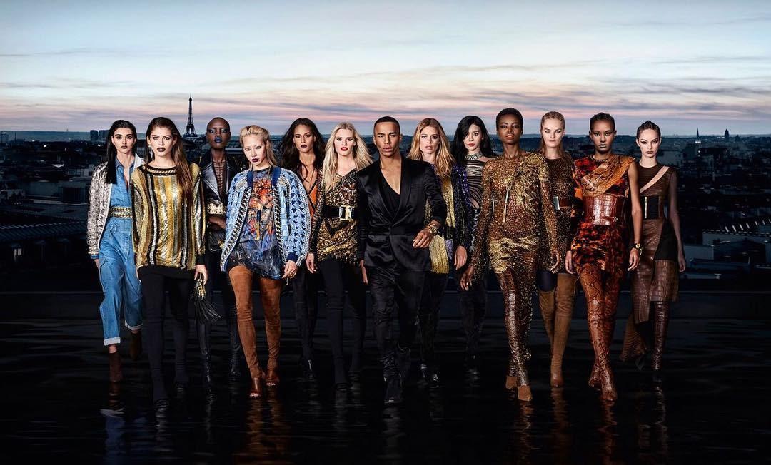 L'Oréal x Balmain: a campanha da colaboração de beauté