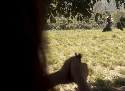 Pedro atira em Domitila