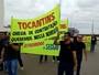 Em protesto, aprovados no concurso da Defesa Social cobram nomeação