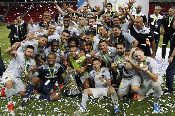 Botafogo campeão Série B (Foto: Vitor Silva / SSPress / Botafogo)