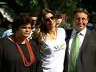 Gisele Bündchen visita a Green Nation Fest, no Rio