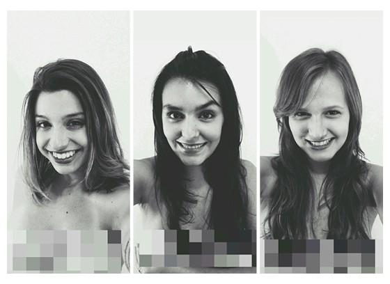 """Ketlyn Araujo, Julia Latorre e  Júlia Barbon lançaram o """"Pornografia de Vingança"""", com o intuito de prestar um serviço às vítimas (Foto: Arquivo Pessoal)"""