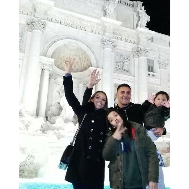 Keylor Navas em Roma