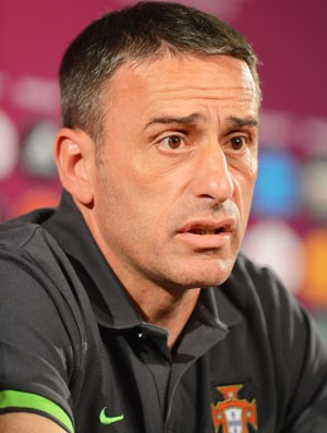 Coletiva Paulo Bento - Portugal (Foto: Getty Images)