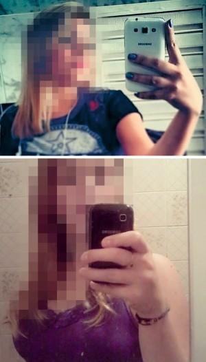 EXTREMO As adolescentes Júlia Rebeca, de 17 anos, do Piauí (acima), e Giana Laura, de 16 anos, do Rio Grande do Sul. Elas se mataram depois que imagens íntimas foram parar na internet (Foto: Reprodução (2))