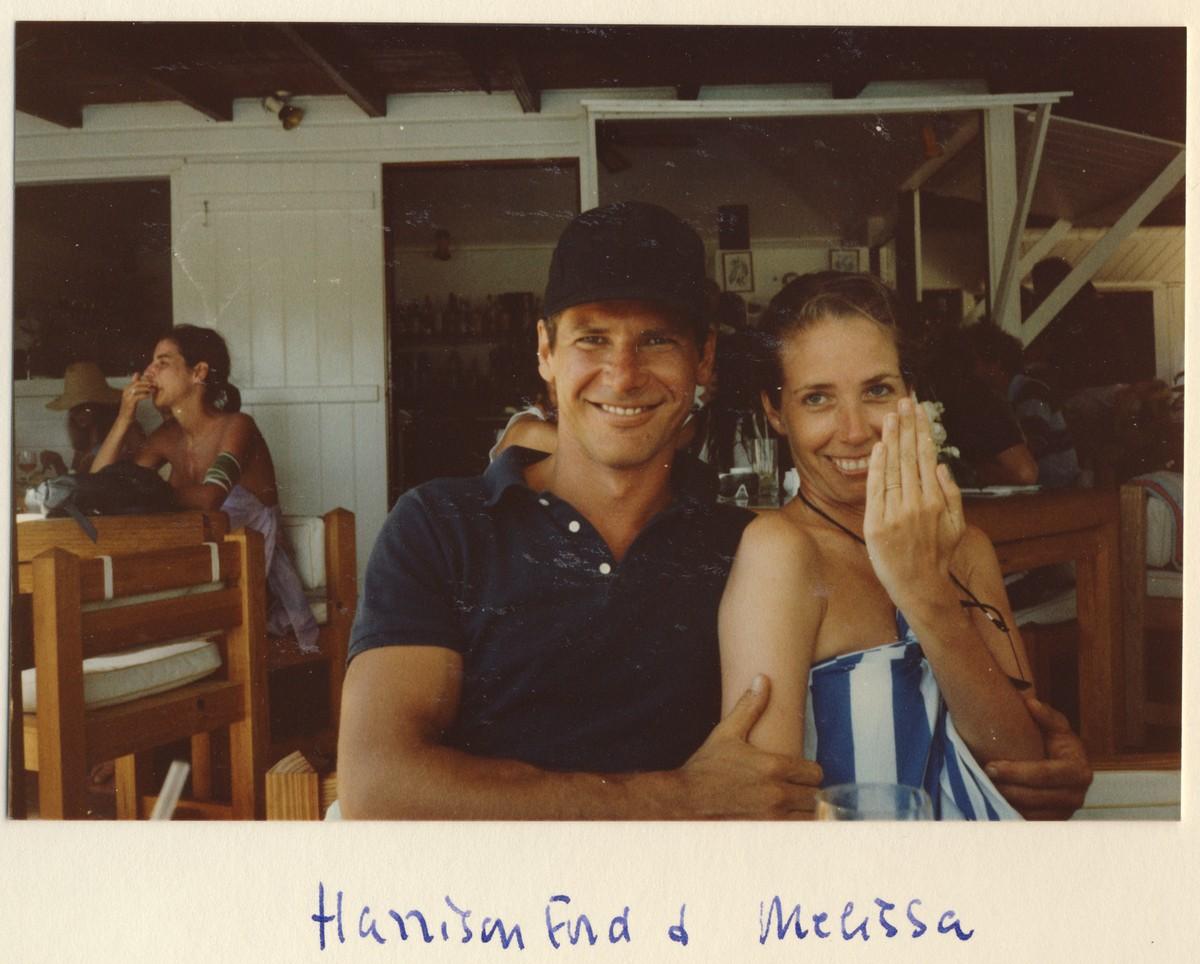 Harrison Ford e Melissa Ford. (Foto: Divulgação)
