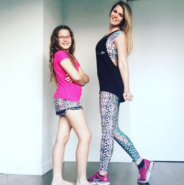 Susana Werner com a filha (Foto: Reprodução/Instagram)