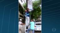 Fiscalização encontra placas adulteradas na Zona Sul
