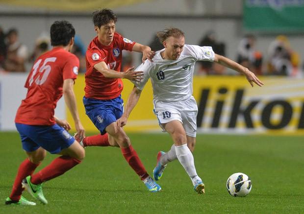 Виталий Денисов вызван в сборную Узбекистана