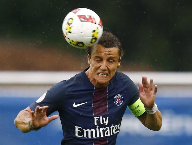 David Luiz PSG com novo visual