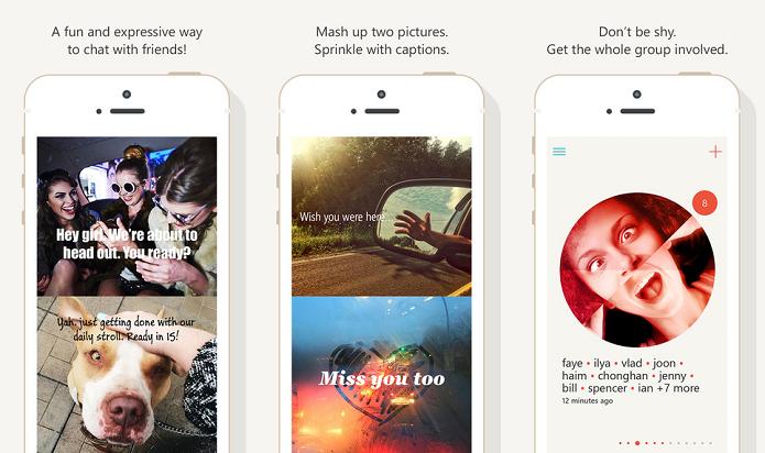 App da Microsoft promete diversão em chat com imagens (Foto: Divulgação)