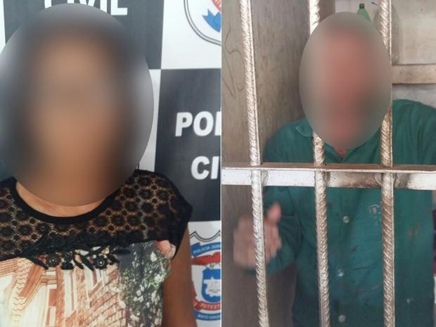 Babá permite que marido abuse de menina de 3 anos e é presa em Campo Novo do Parecis (Foto: Polícia Civil de MT)