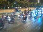 'Rolezinho' reúne centenas de motoqueiros em Niterói, RJ