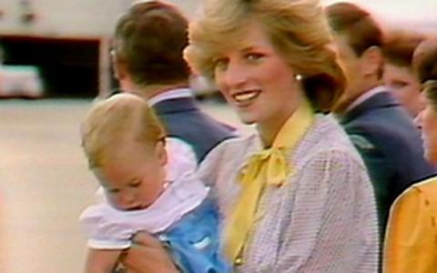 Princesa Diana e a relação com os filhos William e Harry