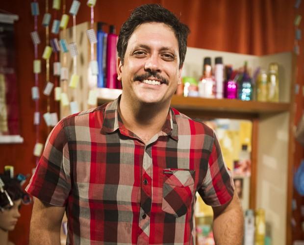 Lucio Mauro fala sobre o desafio de estrear um novo projeto (Foto: João Miguel Júnior/TV Globo)