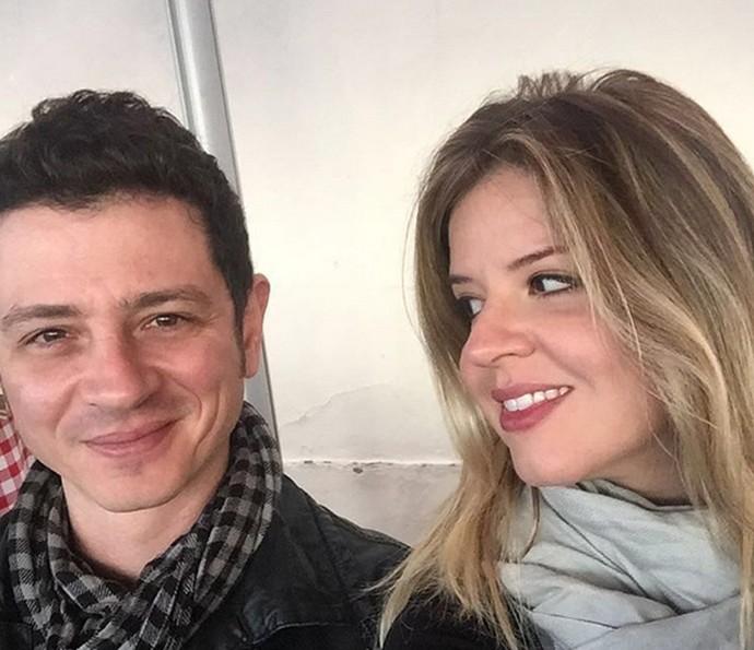 Mariana Santos e Rodrigo estão casados há pouco mais de três meses (Foto: Arquivo Pessoal)
