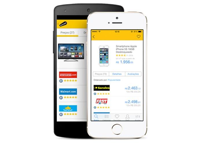 Buscapé tem aplicativo para iPhone e Android (Foto: Reprodução)