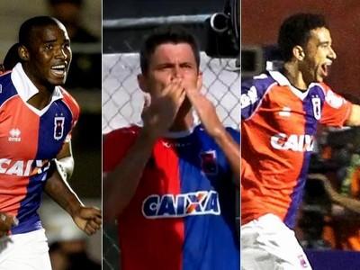 Adaílton Giancarlo Tiago Alves Paraná Clube (Foto: Arte/GloboEsporte.com)