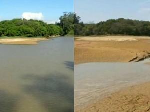 Reservatórios apontam 2% de água e racionamento é ampliado em Itu (Foto: Reprodução/TV TEM)