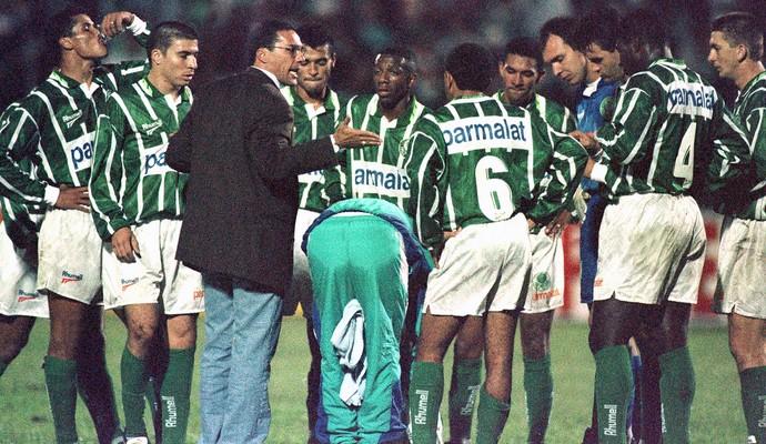 Luxemburgo técnico do Palmeiras 1996 (Foto: Arquivo / Agência Estado)
