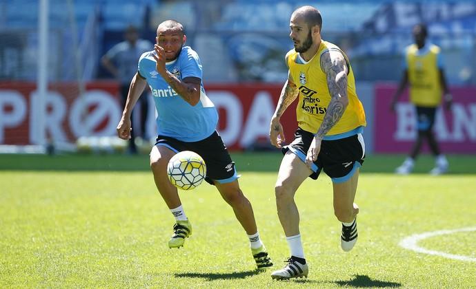 Fred guilherme Grêmio (Foto: Lucas Uebel/Grêmio)
