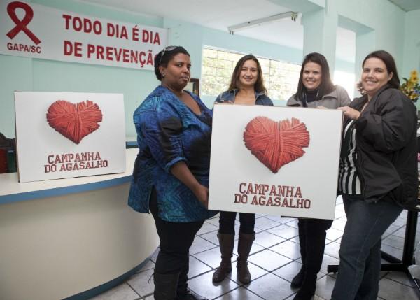 Equipe do Gapa recebeu doações (Foto: José Luiz Somensi/Divulgação)