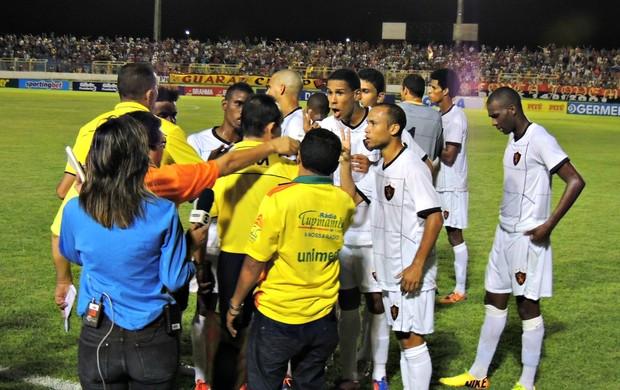 Guarany-CE x Sport (Foto: Elton de Castro)