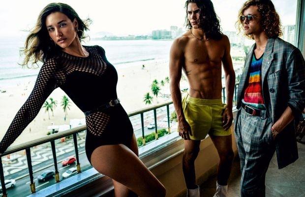 Débora Nascimento (Foto: Reprodução/Vogue Hommes)