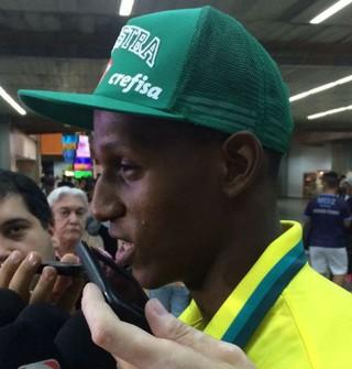 Yerry MIna Palmeiras (Foto: Rodrigo Faber)