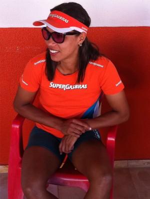 Juliana, atleta de vôlei de praia (Foto: Roberto Leite/Globoesporte.com)